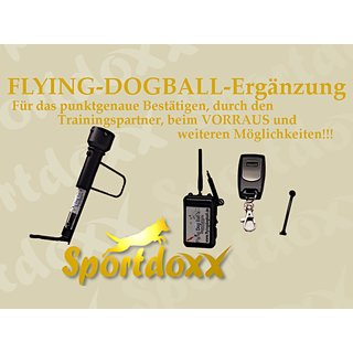 Flying dog ball elektrisch